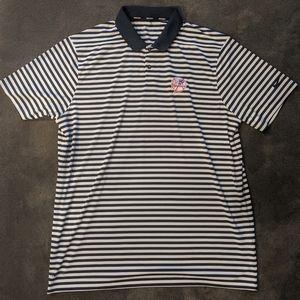 New York Yankees Nike Polo Athletic Shirt